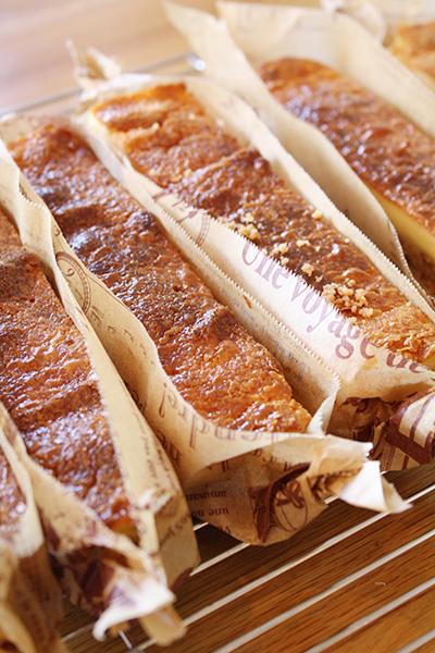 pique-niqueはスティックチーズケーキレッスンでした!