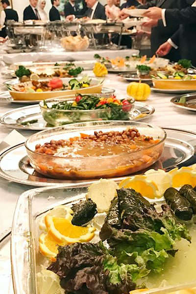 トルコ大使館のレセプション「エーゲ海の夕べ」